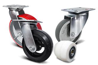 Колеса и колесные опоры, ассортимент